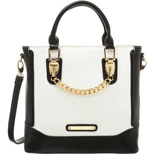 LYDC London Handtasche white/black