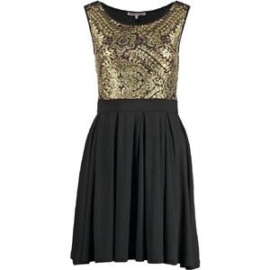 Anna Field Jerseykleid black/gold