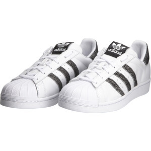 Adidas Superstar F / BLANC