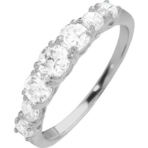 "firetti Ring ""Memoire-Optik"" mit Zirkonia"