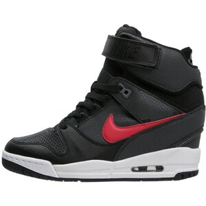 Nike Sportswear AIR REVOLUTION SKY Baskets montantes black/university red/white/cool grey