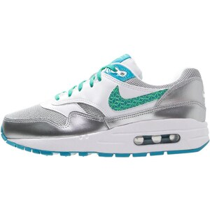 Nike Sportswear AIR MAX 1 Sneaker low white/blue lagoon/electro green