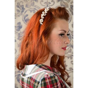 Lola 50s I Say Yes To The Pearl Hair Band