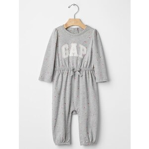 Gap Logo Dot One Piece - Grey