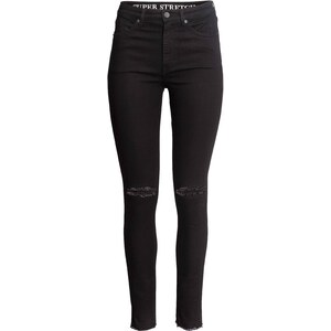 H&M Jean Skinny High Ripped
