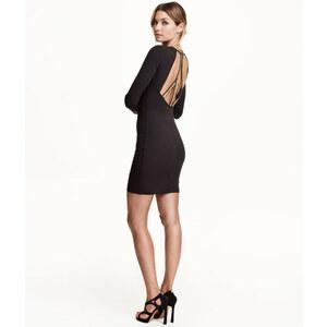 H&M Perlenbesetztes Kleid