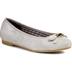 Ballerinas TOMMY HILFIGER - Amy 8B FW56818859 Light Grey 051