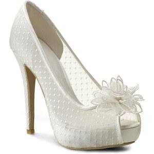 High Heels MENBUR - 004635 Ivory 004
