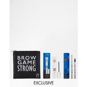 Eyeko for ASOS - Brow Game Strong - Exklusives Augenbrauenset, 43% RABATT - Augenbrauen