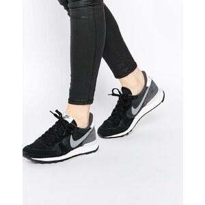 Nike - Internationalist - Schwarze Turnschuhe