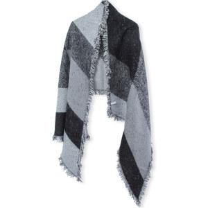 Lesara Schal mit diagonalen Streifen
