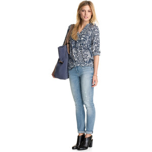 Esprit Variable Viskose-Print-Bluse
