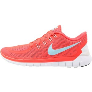 Nike Performance FREE 5.0 Laufschuh Natural running bright crimson/copa/black/hyper orange
