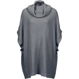 BODYFLIRT boutique Pull en maille oversize gris femme - bonprix