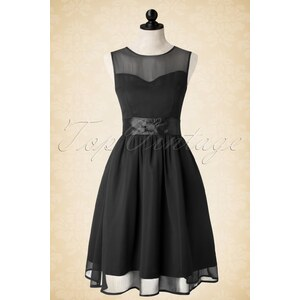 Lindy Bop 50s Candy Party Prom Dress in Black