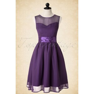 Lindy Bop 50s Candy Party Prom Dress in Purple