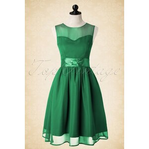 Lindy Bop 50s Candy Party Prom Dress in Green