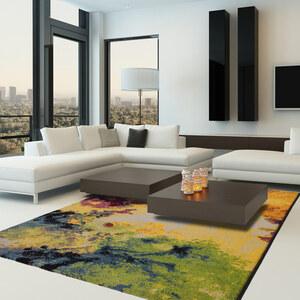 Lesara Teppich mit abstraktem Muster - 80 x 150 cm