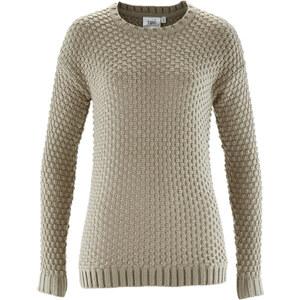 bpc bonprix collection Pullover langarm in grau (Rundhals) für Damen von bonprix