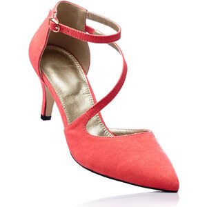 bpc selection Pumps mit 7 cm Trichterabsatz in rot von bonprix