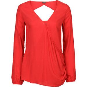 BODYFLIRT Bluse in rot von bonprix
