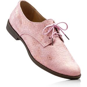 bpc selection Chaussures à lacets rose chaussures & accessoires - bonprix