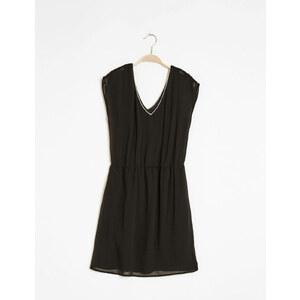 Jennyfer robe liseré brillant noire