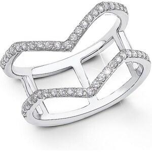 S.OLIVER RED LABEL s.Oliver Geometrisch designter Ring