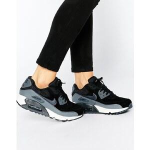 Nike - Air Max 90 - Sneakers in Schwarz und Grau