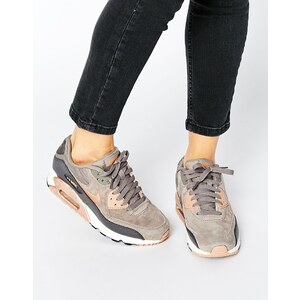 Nike - Air Max 90 - Sneakers in Grau und Bronze