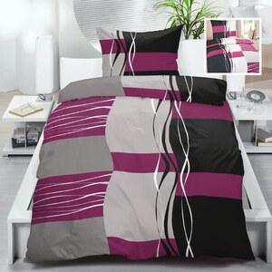 Lesara Biber-Bettwäsche im modernen Design - Pink