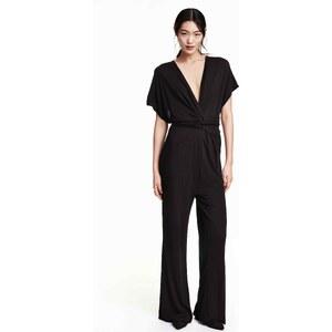 H&M Combi-pantalon à encolure en V