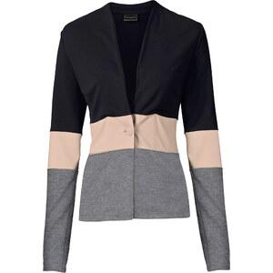 BODYFLIRT boutique Blazer sweat-shirt noir femme - bonprix