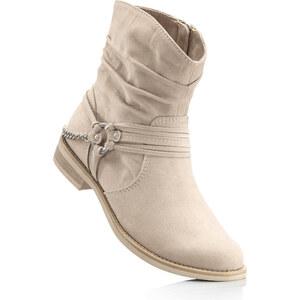 Bottines beige chaussures & accessoires - bonprix