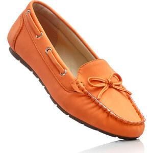bpc selection Mocassins orange chaussures & accessoires - bonprix