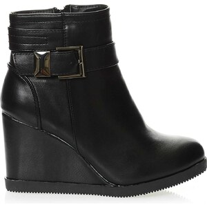 R and Be Bottines - noir
