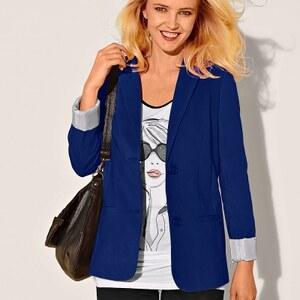 Blancheporte Veste maille jersey bleu Taille 36