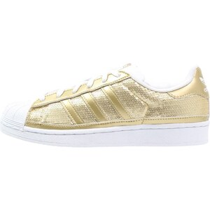 adidas Originals SUPERSTAR Sneaker low gold metallic/white
