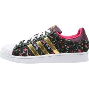 adidas Originals SUPERSTAR Sneaker low core black/gold metallic/merlot
