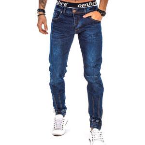 Lesara Jeans-jogging avec ourlets à fermeture éclair