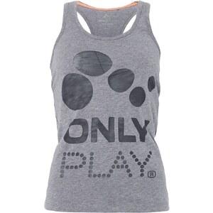 Only Play ONPAURORA Top medium grey melange