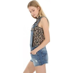 PIMKIE Jeans-Latzshorts