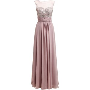 Luxuar Fashion Ballkleid taupe