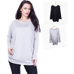 Lesara T-shirt ample à manches longues