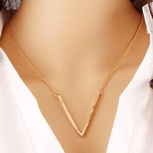 Lesara Halskette mit V-Anhänger