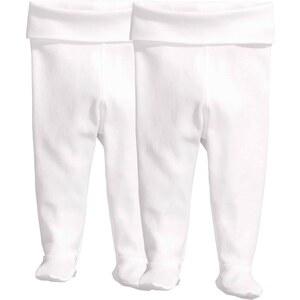 H&M Lot de 2 leggings avec pieds