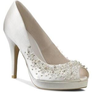 High Heels MENBUR - 004345 Ivory/Marfil 004