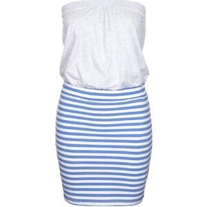 Even&Odd Jerseykleid light blue