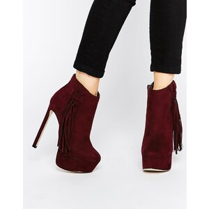 ASOS - EYES OPEN - Bottines à plateforme - Violet