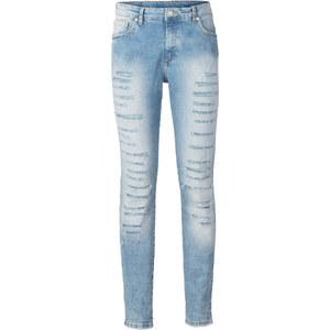 RAINBOW Skinny Jeans in natur für Damen von bonprix